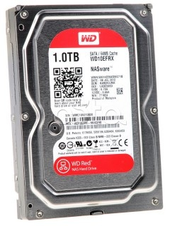 "Жесткий диск Western Digital Red HDD 4 Tb SATA-III 3.5"" WD10EFRX"